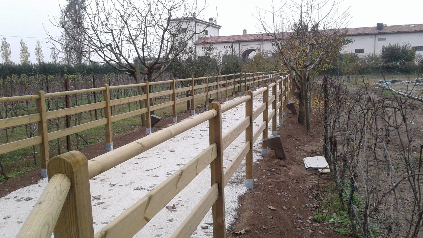 Recinzioni in legno per esterni bekafor collfort with - Recinti in legno da giardino ...